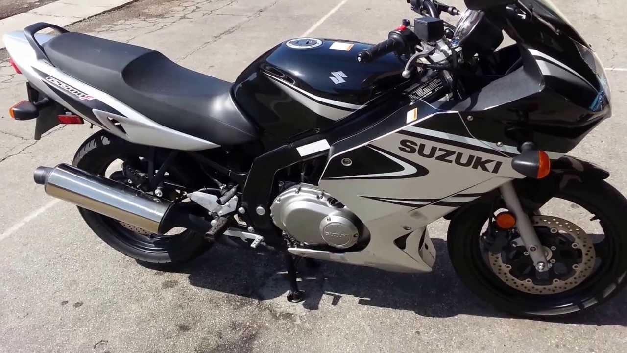 2006 Suzuki GS500F for sale - YouTube