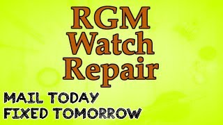 rgm watch repair