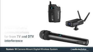System 10 Camera-Mount Overview   Digital Wireless Systems