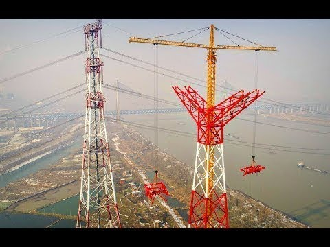 The Chinese Build the Highest Power Lines in the World