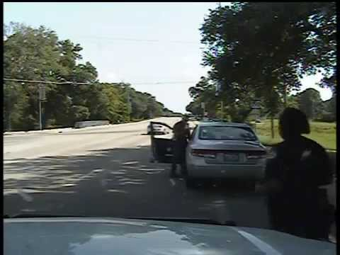 Sandra Bland traffic stop (ORIGINAL) * Police HID By Removing It From Public View