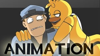 Chica and the Night Guard - Poker Face [FNAF Animation MV] thumbnail