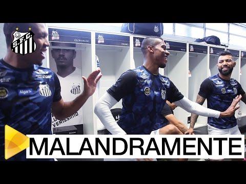 Santos MALANDRAMENTE envolve a Chapecoense na Vila