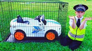 Vlad spielt Polizei und hat sein Auto verloren