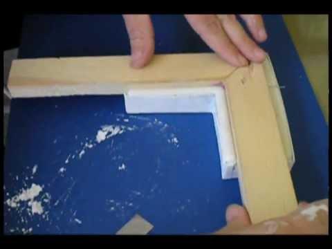Picture Frame Corner Moulding - Ornate Plaster Positive Molding ...