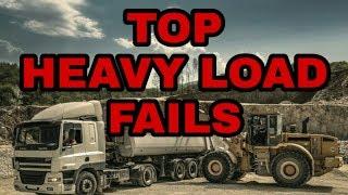 Top Heavy Load epic Fails