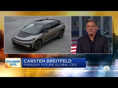 Luxury EV maker Faraday Future CEO on going public via a SPAC
