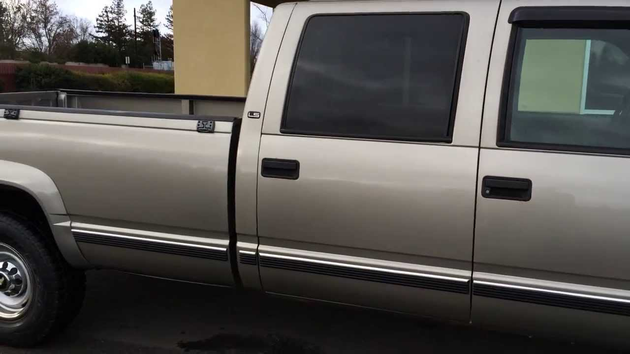 2000 4x4 Crew Cab Chevy Or Gmc 6 5 Diesel 3500 Dually For Sale | Autos Post
