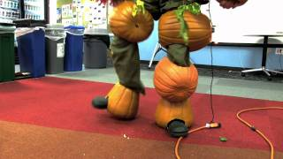 Plants Vs Zombies - Zombie HD Temp Worker Halloween Pumpkin Video