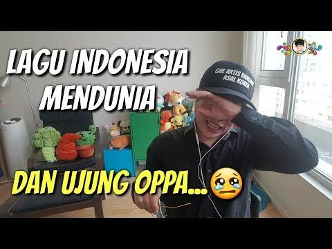 ORANG KOREA MENANGIS DENGAN LAGU INDONESIA MENDUNIA