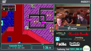 Awesome Games Done Quick 2015 - Part 63 - Commander Keen 5 by CapnClever