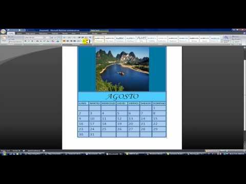 Calendario Word 2020.Hacer Calendarios En Word Rapido Y Sencillo