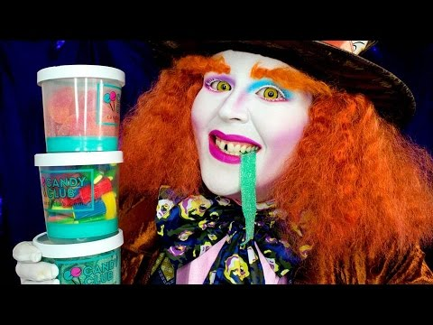 Mad Hatter Candy Taste Test With Candy Club