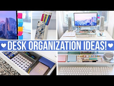 desk-&-office-organization-ideas!