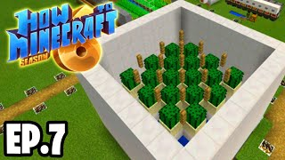 AUTOMATIC FARM TIME! |H6M| Ep.7 How To Minecraft Season 6 Survival Series (SMP)