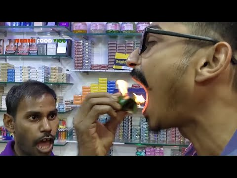 Burning Paan In Mumbai | Fire Paan Video | Betel Leaf Sweets | Indian Street Food