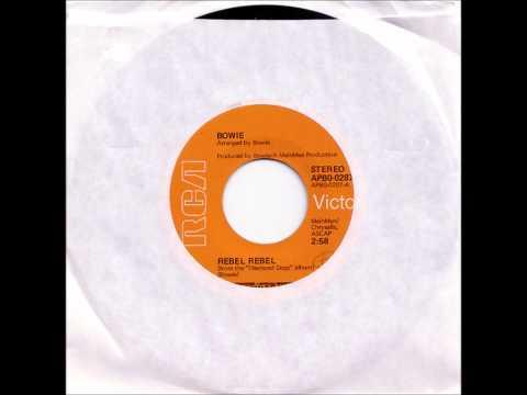 David Bowie - Rebel Rebel (US Single Version)