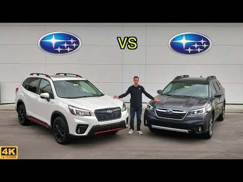 BEST SUBARU CUV -- 2020 Subaru Outback Vs. 2020 Subaru Forester: Comparison