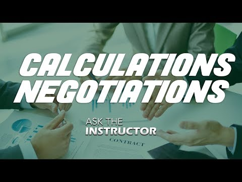 Net Lease Calculations and Negotiations Tactics - Ask the Instructor