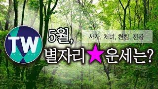 ㅣ타로웨이ㅣ5월 별자리별 운세 [사자, 처녀, 천칭, 전갈] 기준은 양력/태양궁입니다.