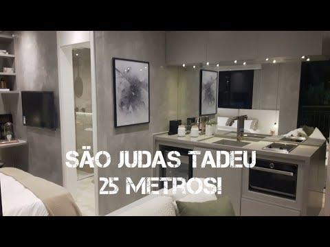 Apartamento Decorado São Judas Tadeu  25 Metros Quadrados
