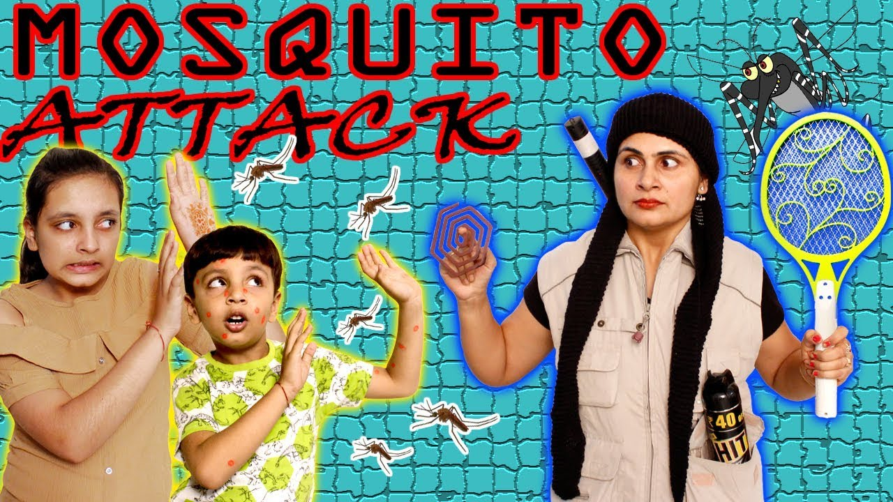 Download SHORT MOVIE - MOSQUITO ATTACK | MORAL STORY #Kids #Bloopers Aayu and Pihu Show