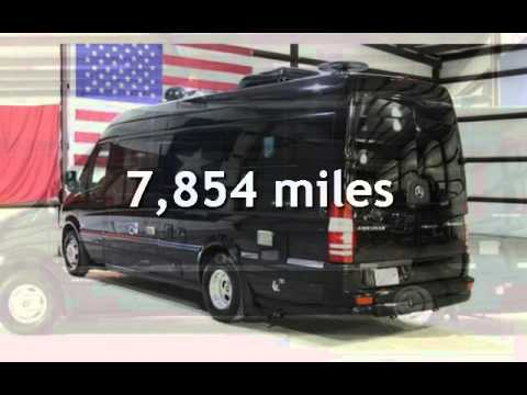 2013 Mercedes Benz Sprinter AIRSTREAM GALLEY BATHROOM SHOWER SAT TV For Sale In Magnolia TX