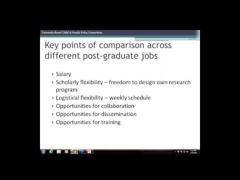 Webinar: The Job You Want—Paths to Academic and Non Academic Careers