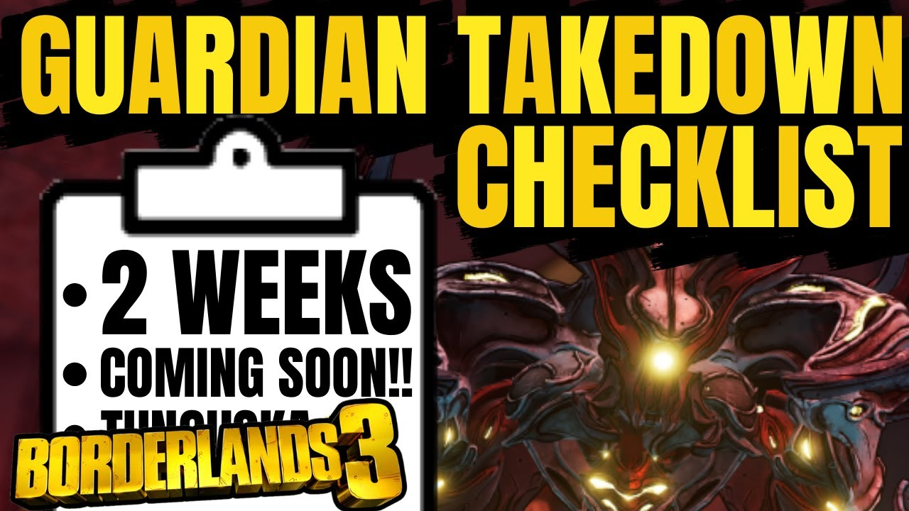 Everything You NEED Before The Guardian Takedown Borderlands 3 thumbnail