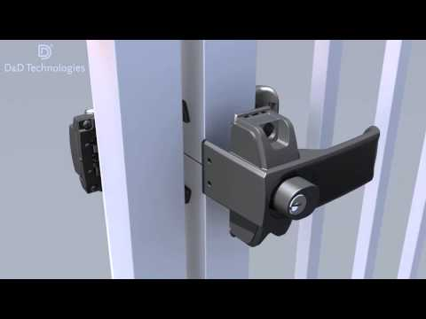 LokkLatch Magnetic Gate Lock / Latch Installation Video