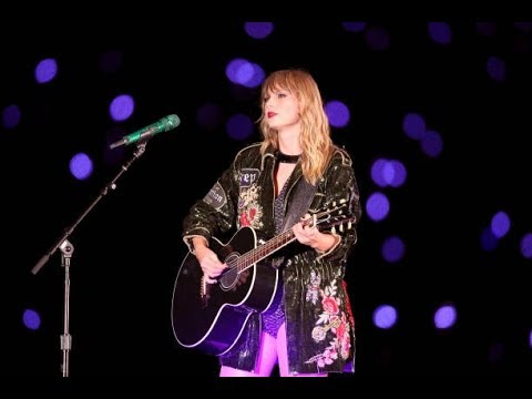 Taylor Swift Sparks Fly Reputation Tour Columbus Youtube