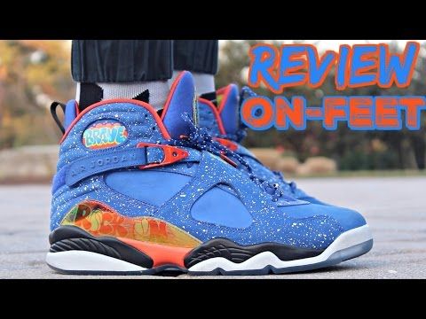 Air Jordan 8 Doernbecher Review | On-Feet
