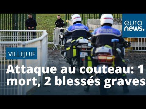 Une Attaque Au Couteau Fait Un Mort Et Deux Blessés Graves à Villejuif, Près De Paris