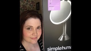 Review: simplehuman Sensor Lighted Makeup Vanity Mirror 5x Zoom Thumbnail