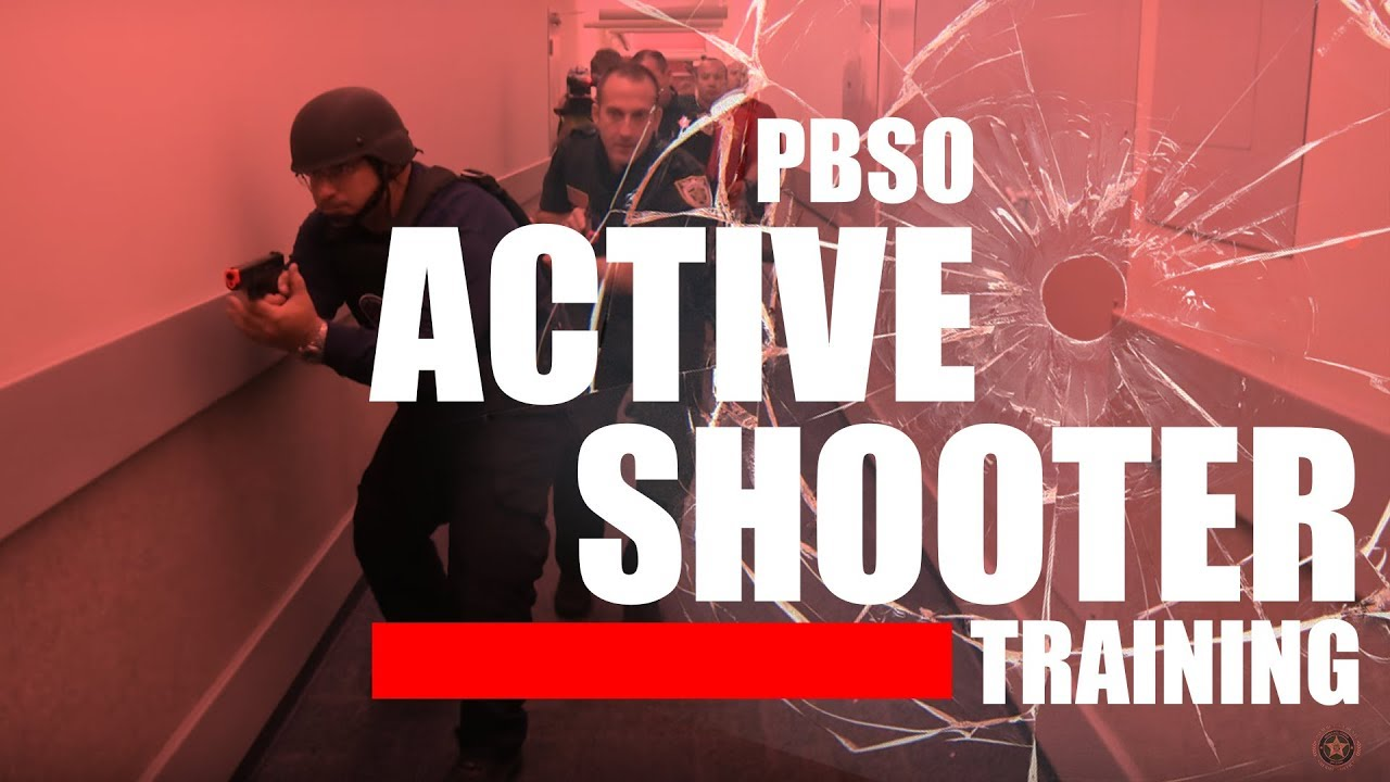 PBSO Active Shooter Training - YouTube