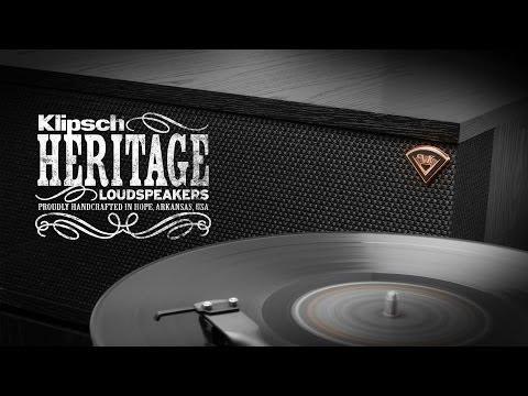Klipsch Heritage Loudspeakers: Big Sound, No Bullshit.