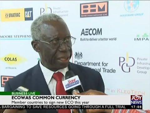 Ecowas Common Currency - Business Live on JoyNews (15-2-18)