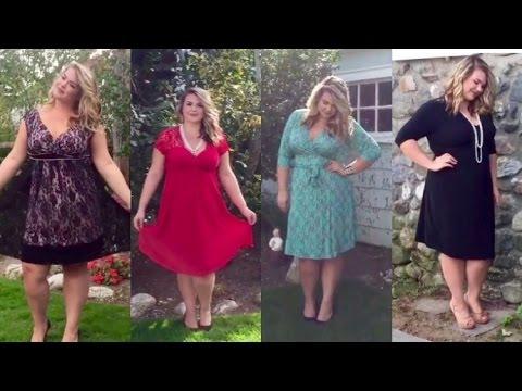Flirty Formal For Fall   Plus Size Dresses Lookbook