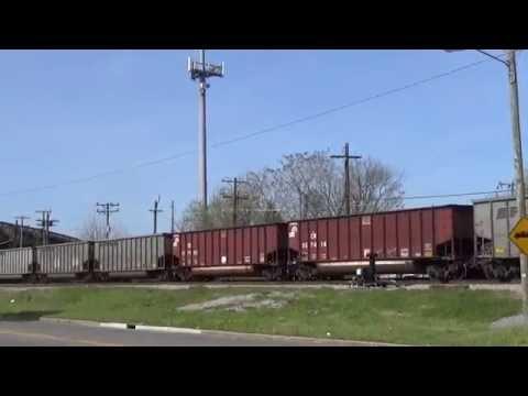 Coal Train's around the Piedmont of Va early 2016
