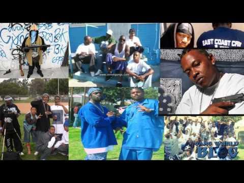 East Coast Crip Spider Loc & Snoopy Blue Hood (Los Angeles)