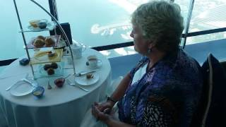 Burj Al Arab high afternoon tea