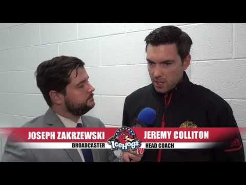 Blackhawks Development Camp - Catching Up with Head Coach Jeremy Colliton