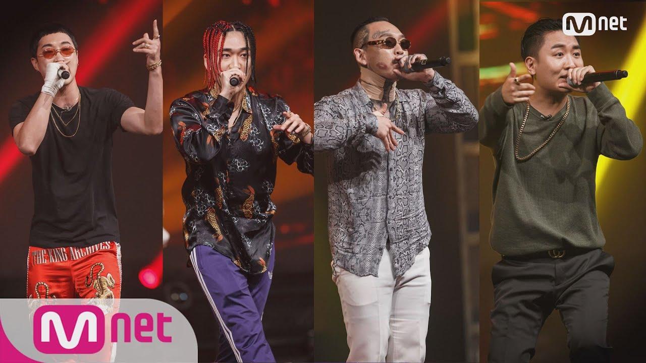 Show Me The Money777 [5회] Team 딥플로우 & 넉살 (EK, 김효은, Los, 차붐) 패(Feat. 딥플로우, 넉살) @ 음원미션 181005 EP.5