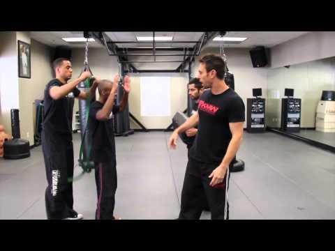Building Aggressiveness - Krav Maga Training - Self Defense w  AJ Draven