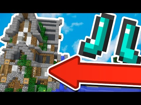 YOU CAN MAKE *THIS* WITH YOUR BOOTS IN MINECRAFT?! - Видео из Майнкрафт (Minecraft)