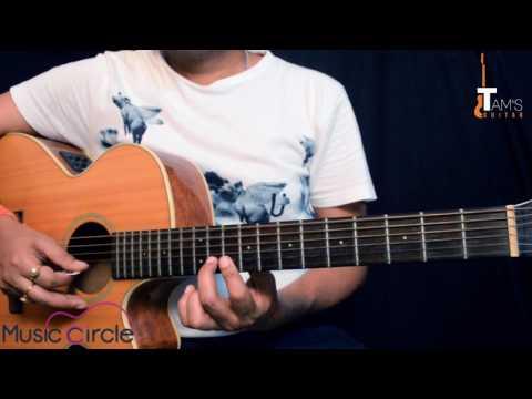 Sayonee (Junoon) intro guitar lesson | Tamsguitar