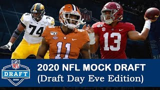 2020 NFL Mock Draft (Draft Day Eve Edition)