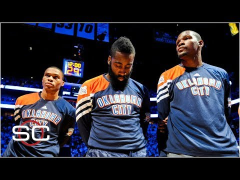 Kevin Durant, Russell Westbrook, and James Harden: The Thund