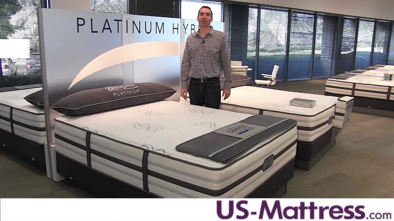 Simmons Beautyrest Platinum Hybrid Vanity Plush Mattress Expert Review