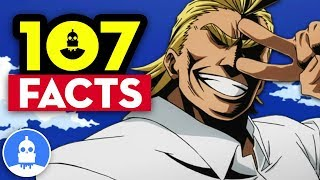 107 My Hero Academia Season 2 Anime Facts YOU Should Know - Anime Facts 107 Anime Facts S2 E8